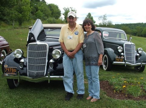 1935 Ford Roadster - Dave & Nancy
