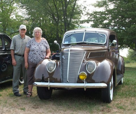 1937 Ford Two Door Sedan - Jack & Kathy