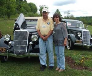 1935 Ford Roadster - Dave & Nancy