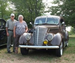 1937 Ford Two Door Sedan - Jack & Kathy