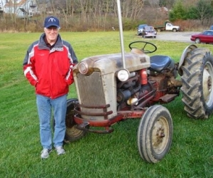 1954 Ford NAA Tractor
