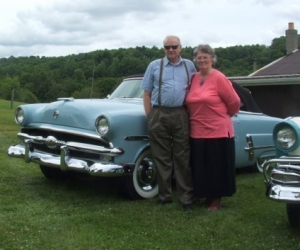 1953 Ford Convertible - Milt and Susan